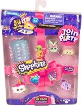 Shopkins reeks 7 PARTY - Blister 5 pack (5 shopkins + 1 lantaarn)