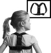 Posture Kids Corrector - Postuur en houdingtrainer voor kinderen (6-12 jaar) - zwart