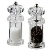 Cole&Mason giftset peper en zoutmolen acryl 14cm