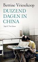 Boek cover Duizend dagen in China van Bettine Vriesekoop