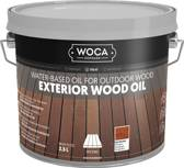 WOCA Exterior Oil Roodbruin 2,5L