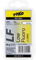 Toko Ski/Snowboard Wax - Hot Wax Yellow - Low Fluor - Warm - 40 gram