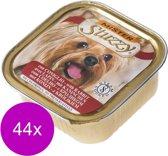 Mister Stuzzy Dog Paté 150 g - Hondenvoer - 44 x Konijn
