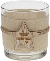 Dijk Natural Collections waxinelichthouder Merry Christmas