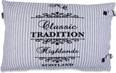 In The Mood Sierkussen TraditionStripe - 40x60 cm - Ecru
