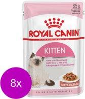 Royal Canin Fhn Kitten Instinctive Mp Pouch - Kattenvoer - 8 x 12x85 g