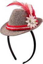 Beiers hoedje op haarband voor volwassenen - Verkleedhoofddeksel