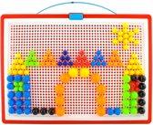 Insteekmozaïek Bord - Insteek Mozaïek Leerspel - 300 Pins