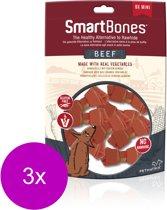 Smartbones Classic Bone Chews Rund - Hondensnacks - 3 x Mini