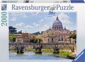 Ravensburger puzzel Engelenbrug in Rome - Legpuzzel - 2000 stukjes