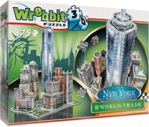Wrebbit 3D Puzzel - New York, downtown World Trade Center - 875 stukjes