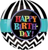 Folieballon Happy Birthday 45cm