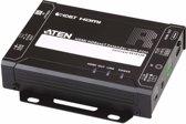 Aten VE1812R audio/video extender AV-receiver Zwart