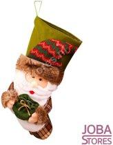 Mega Kerst Sok Kerstman 50cm