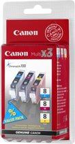 Canon CLI-8CMY - Inktcartridge / Cyaan / Magenta / Geel