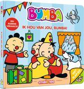 Bumba - Ik hou van jou, Bumba! kartonboek met flapjes