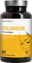 Hyaluronzuur - 135mg - NUTRIMEA – anti-aging - 60 capsules