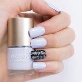 MoYou London Stempel Nagellak - Stamping Nail Polish 9ml. - Powder Blue