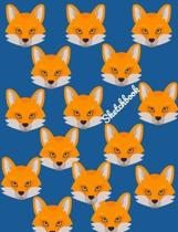 Sketchbook: Fox 2-in-1 Sketchbook and Story Paper for Kids and Adults To Draw in