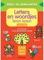 Deltas Educatief Boek Letters En Woordjes Leren Lezen