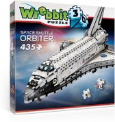 Wrebbit 3D Puzzel - Space Shuttle Orbiter - 435 stukjes