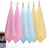3 Stuks Bamboe Handdoekjes Blauw - MijnNami – Organisch - Baby handdoek - Monddoek - Spuugdoek - Hydrofiele Doek