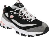 Skechers D'Lites New Journey 11947-BKWG, Vrouwen, Zwart, Sneakers maat: 39 EU