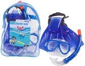 Sportx - Snorkelset - Kinderen - 34-38 - Blauw