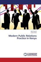 Modern Public Relations Practice in Kenya