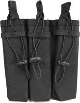101Inc Molle pouch Sidearm 3 Mag. B zwart