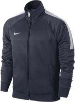 Nike Team Club Trainer 658683-451, Mannen, Blauw, Sporttrui casual maat: M EU