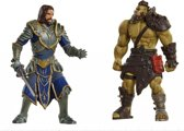Warcraft Mini Figures - Lothar vs Horde Warrior