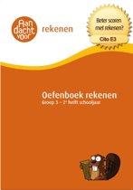 Aandacht voor Rekenen - Oefenboek Rekenen Groep 3 - Cito E3