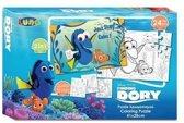 Disney 2-zijdige Puzzel Finding Nemo Dory 24 Stukjes