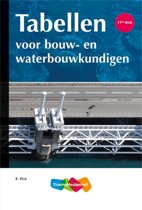 Tabellen bouw- en waterbouwkundigen 11e druk
