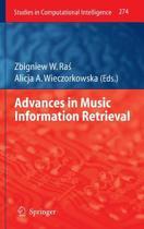 Advances in Music Information Retrieval