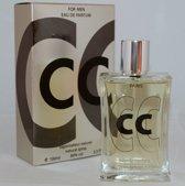 Ciao Ciao Platinium Heren Parfum een zeer warme houtachtige geur.