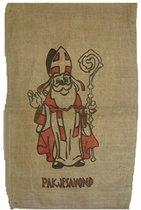 3 jute zakken voor Sinterklaas 60 x 102 cm - Sinterklaaszak