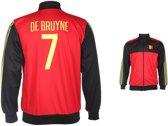 België Trainingsjack De Bruyne Thuis 2016-2018-M