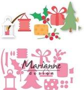Marianne Design Collectables Eline's Kerstversiering