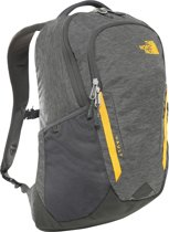 The North Face Vault Rugzak Unisex - Asphalt Grey Dark Heather/Zinnia Orange - 26L