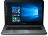 MEDION AKOYA P7645-i7-256 2.70GHz i7-7500U Zevende generatie Intel® Core™ i7 17.3'' 1920 x 1080Pixels Antraciet Notebook
