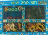 ZOO set met dieren - 52 delig