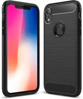 iPhone Xs Max zwarte carbon fiber hoes