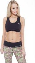 Sporttop Dames Form Zwart - Fitness Authority