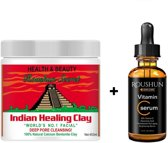 Aztec Secret Indian Healing Clay 2 x| bentoniet klei gezichtsmasker | acne behandeling | 2Pack