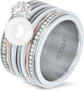 iXXXi JEWELRY - complete ring - Zilverkleurig - Maat 18