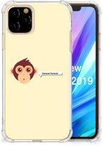 Apple iPhone 11 Pro Stevige Bumper Hoesje Monkey