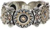 Schakelarmband vintage design met steentjes