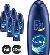 Fa Men Douchegel Sport Voordeelverpakking 6 x 250ml